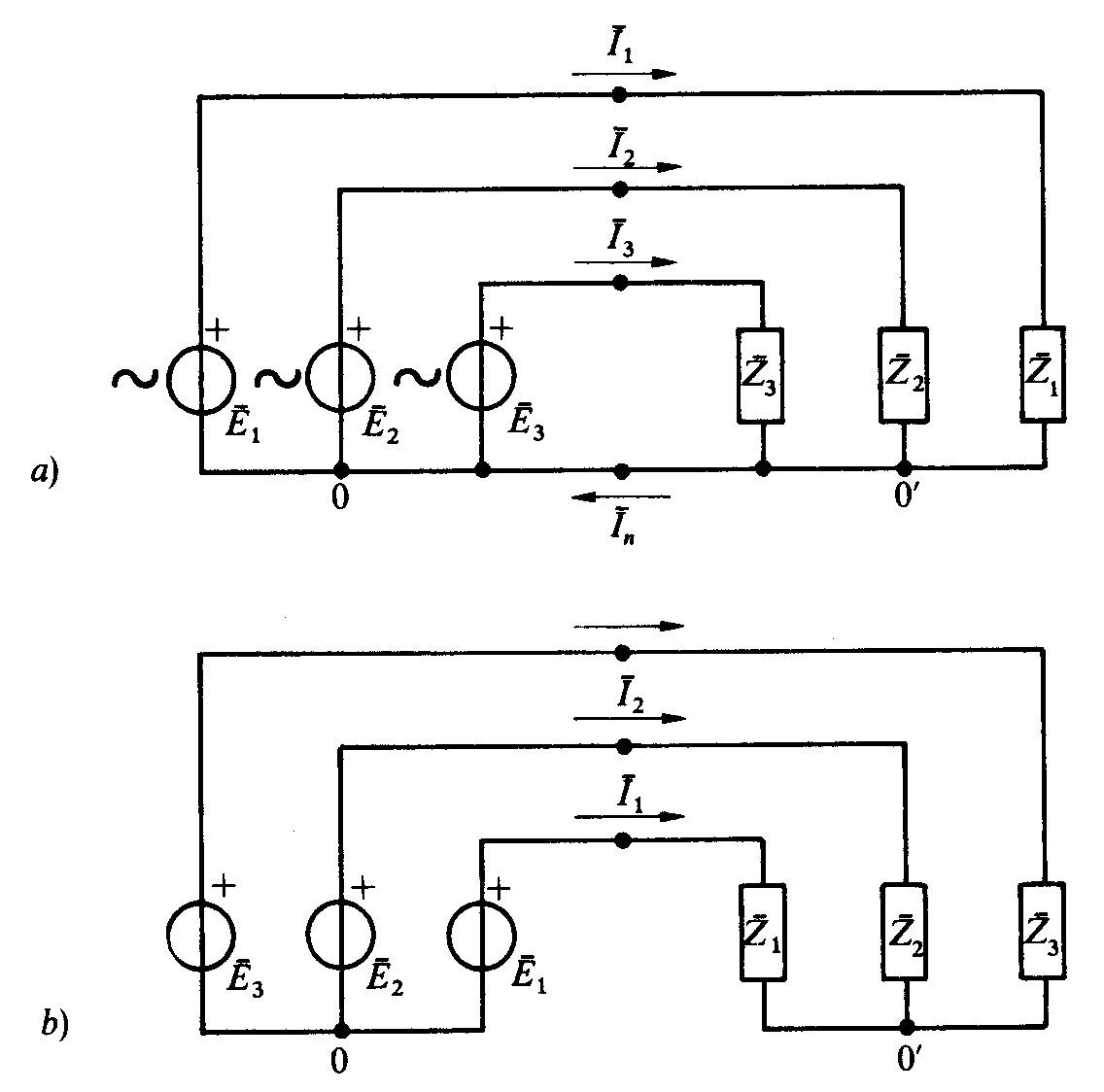 Schema Elettrico Trifase : Elettronica